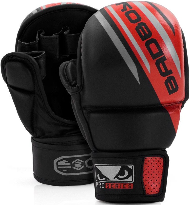 Перчатки для MMA Bad Boy Pro Series Advanced Safety Gloves-Black/Red