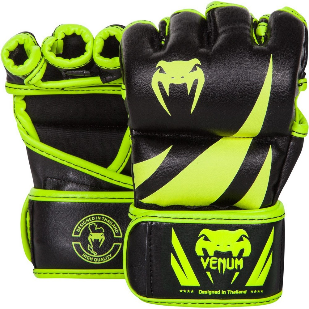 Перчатки для ММА Venum Challenger MMA Gloves Neo Yellow/Black