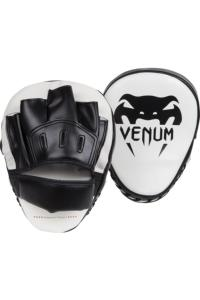 Лапы Venum Light Focus Mitts - Ice/Black 1 пара