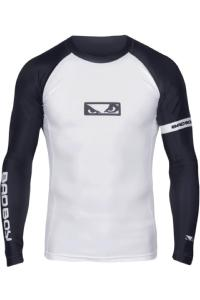 Рашгард Bad Boy Oss Long Sleeves White/Black