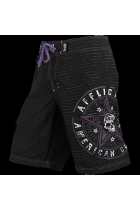 Шорты Affliction Speed Star Black